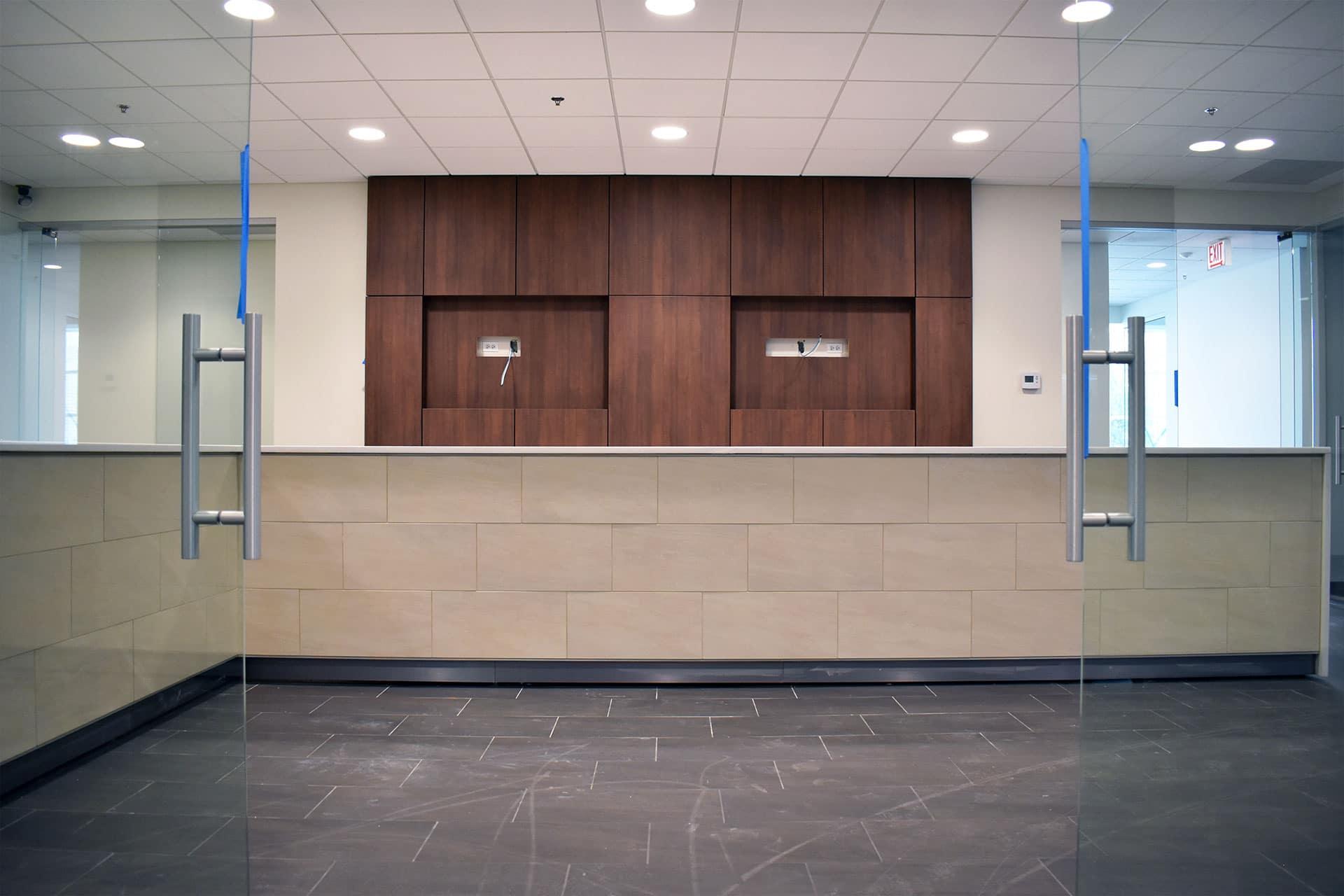 Berman INFINITI Chicago Indoor Showroom Construction Progress