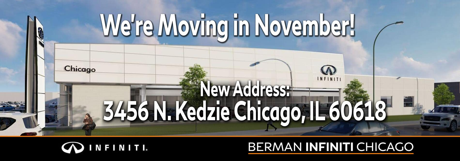We're Moving! Our new location will be 3456 N. Kedzie Ave