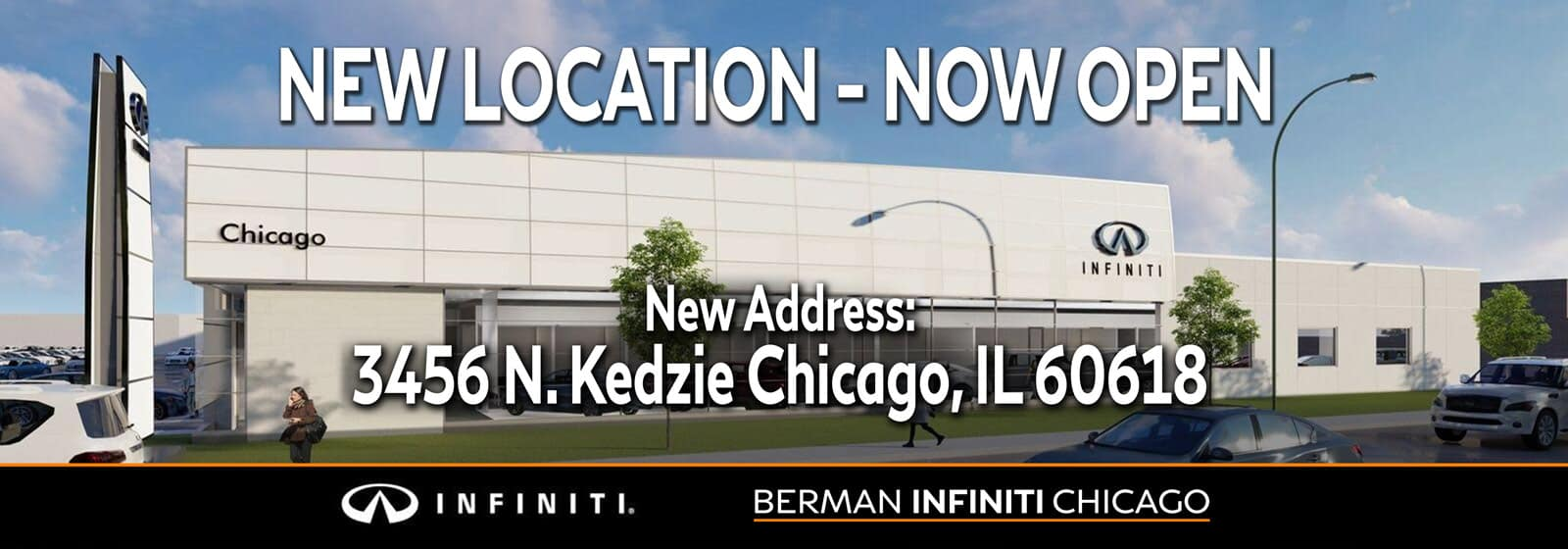 New Location - Now OPEN! Our new location is 3456 N. Kedzie Ave