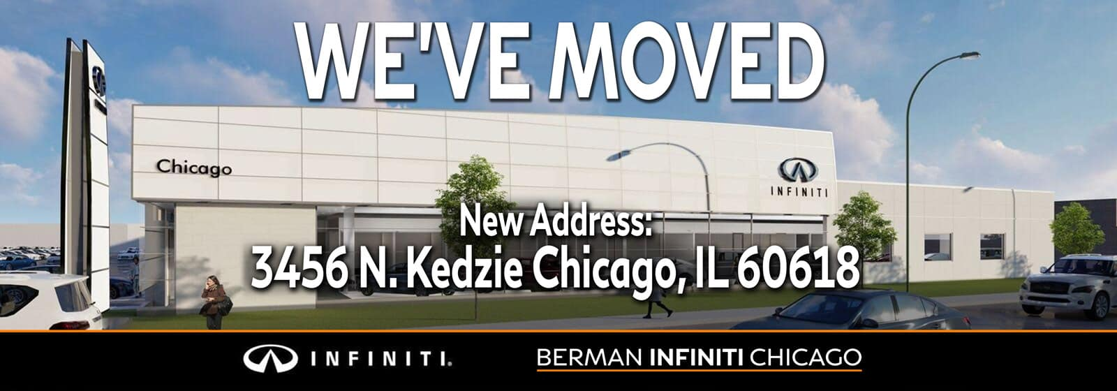 We've MOVED! Our new location is 3456 N. Kedzie Ave