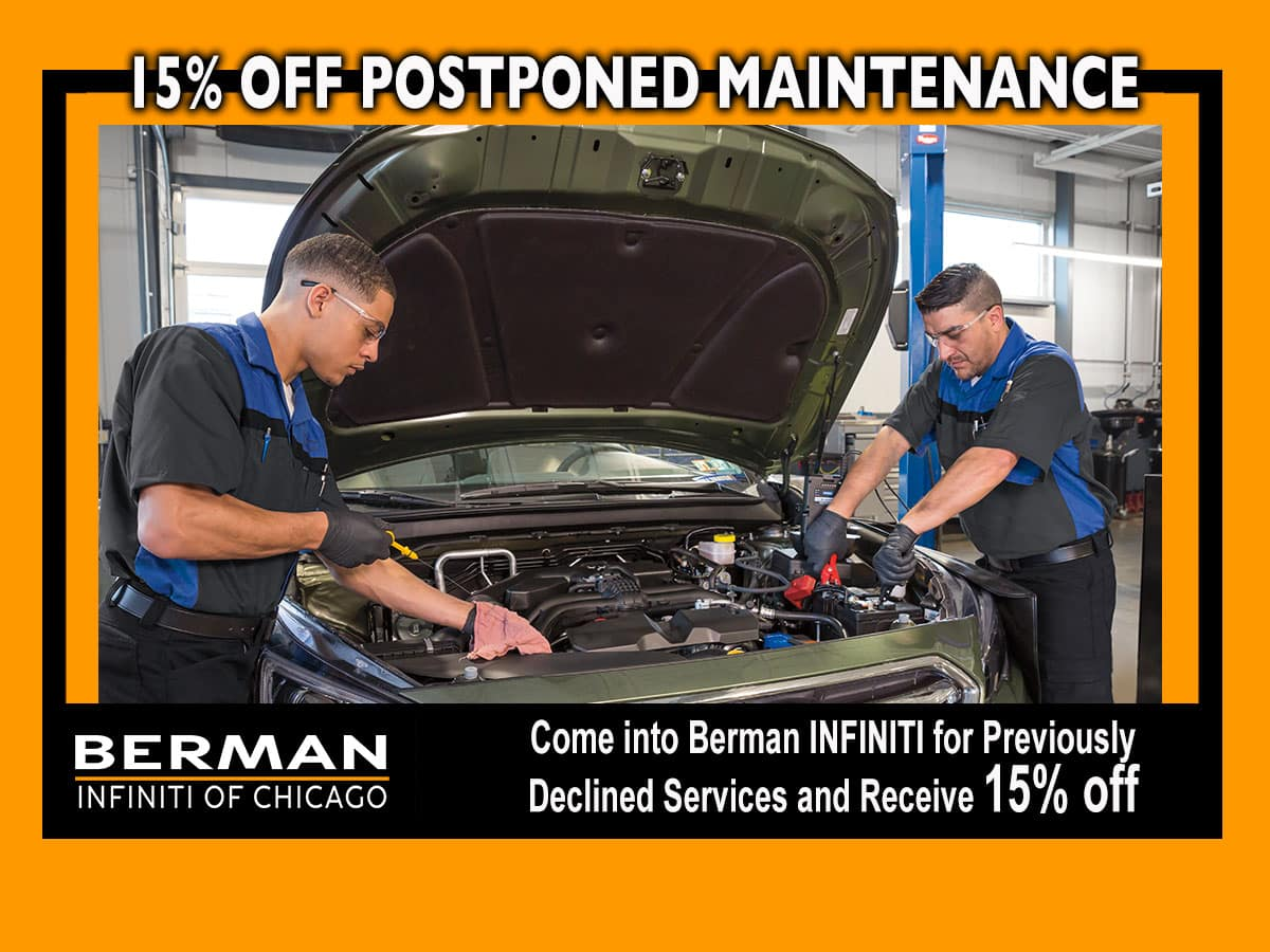 15% off Postponed Maintenance