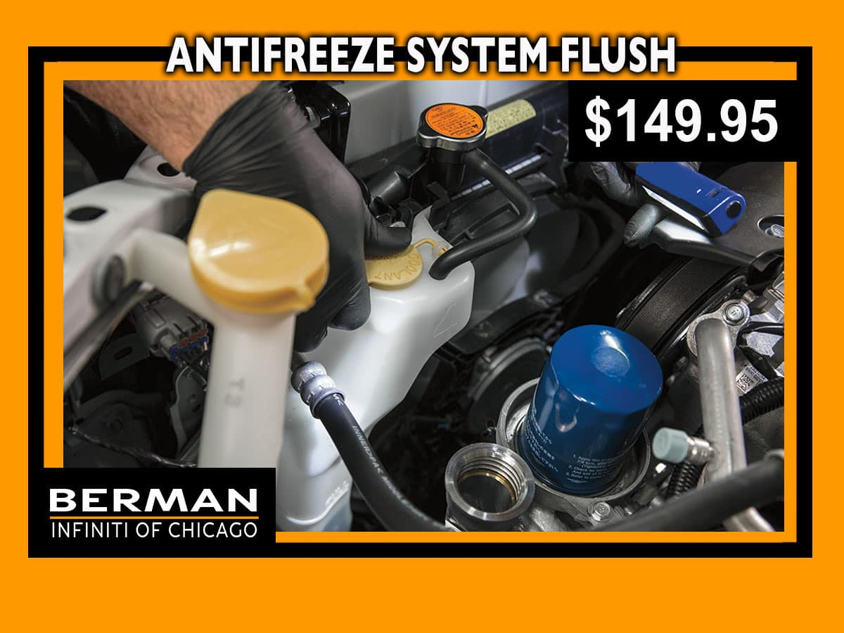 Antifreeze System Flush Special: $139.95