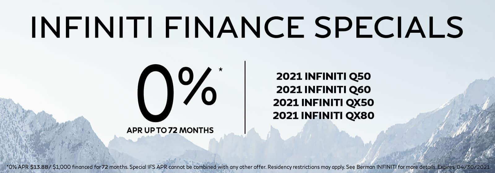 INFINITI 0%