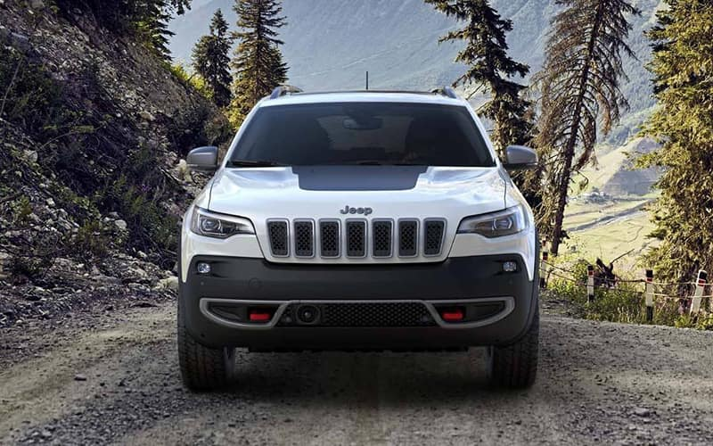 2019 Jeep Cherokee Trailhawk forest drive