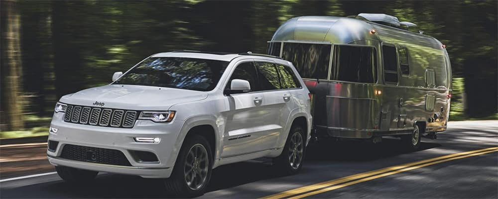 2020 Jeep Grand Cherokee towing