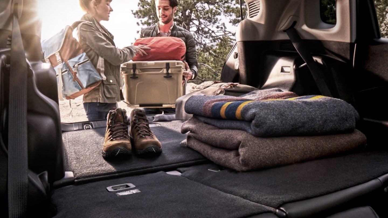 2020 Jeep Compass split folding rear seats