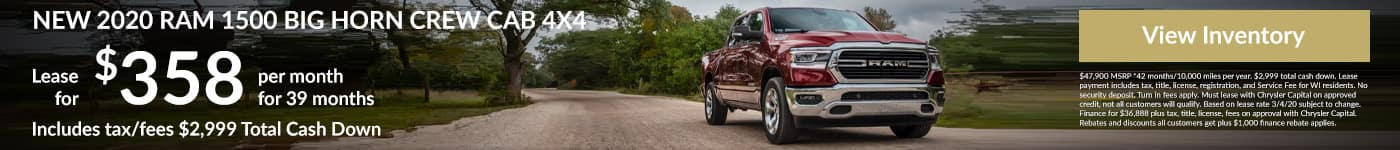 RAM 1500 Big Horn Lease Special