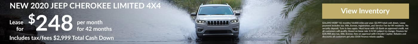 March Lease Special Jeep Cherokee