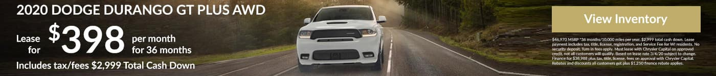 March Lease Special Dodge Durango