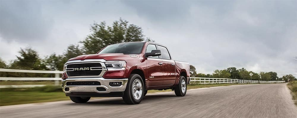 2020 RAM 1500 on country road