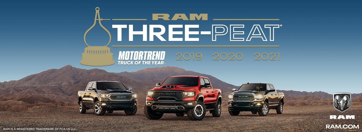 RAM Motortrend truck of the year