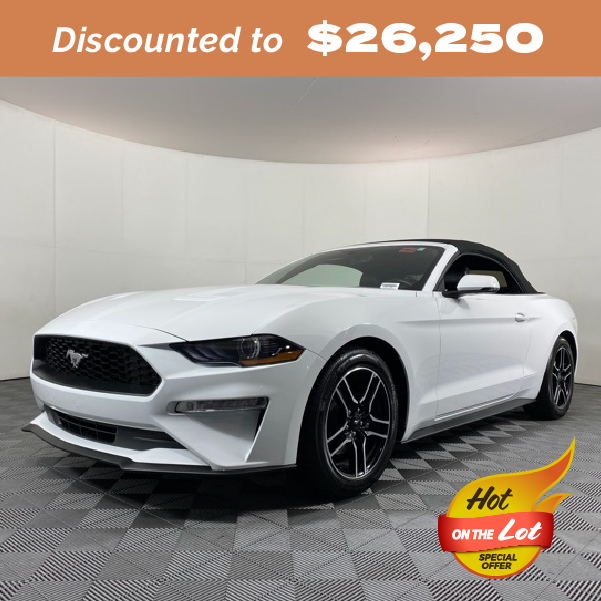 Pre-Owned 2020 Ford Mustang EcoBoost Premium RWD 2D Convertible