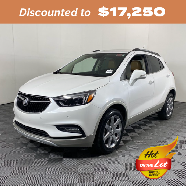 Pre-Owned 2017 Buick Encore Premium AWD 4D Sport Utility