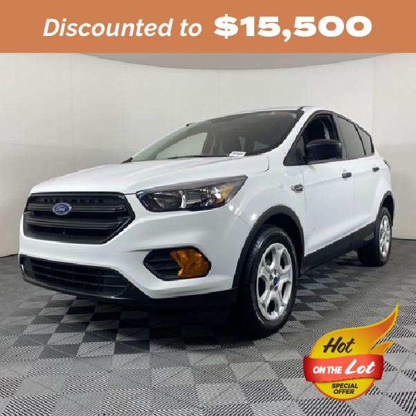 Pre-Owned 2019 Ford Escape S FWD 4D Sport Utility