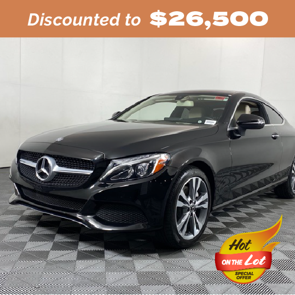 Pre-Owned 2017 Mercedes-Benz C-Class C 300 RWD 2D Coupe
