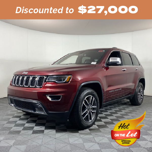 Pre-Owned 2019 Jeep Grand Cherokee Limited RWD 4D Sport Utility
