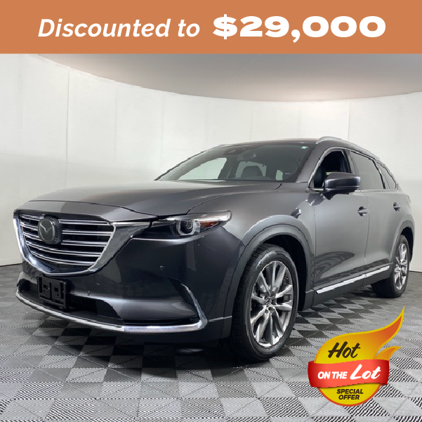 Pre-Owned 2018 Mazda CX-9 Grand Touring FWD 4D Sport Utility