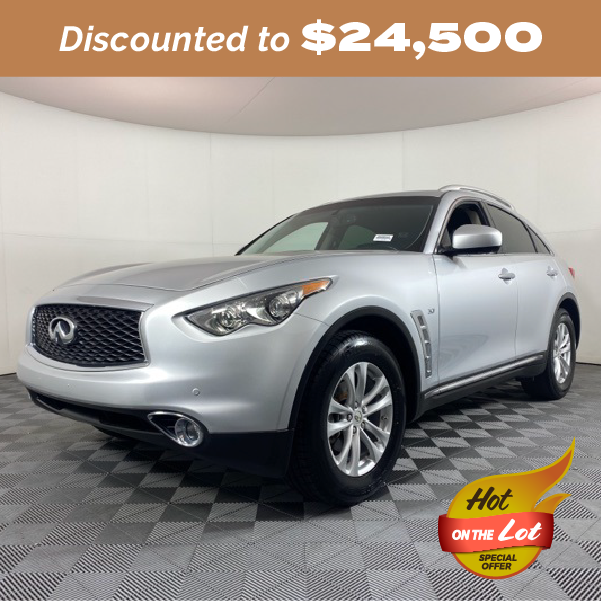 Pre-Owned 2017 INFINITI QX70 Base RWD 4D Sport Utility