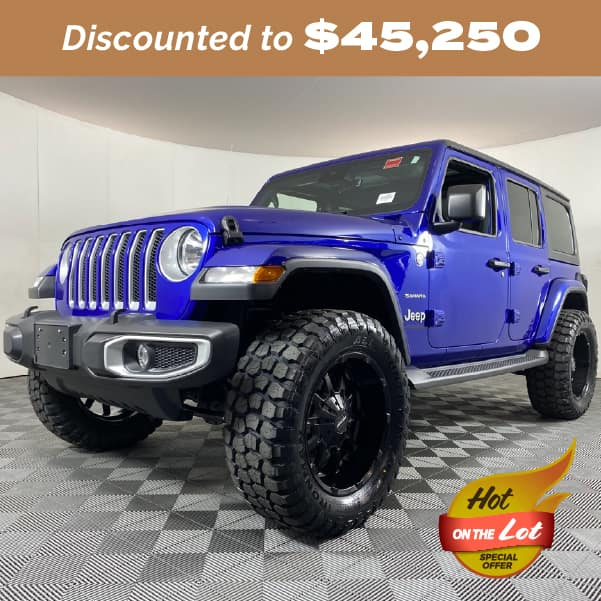 Pre-Owned 2020 Jeep Wrangler Unlimited Sahara 4WD 4D Sport Utility