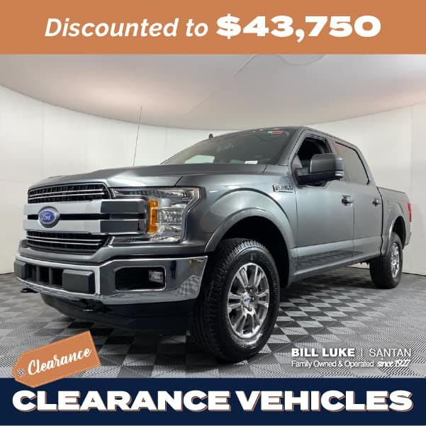 Pre-Owned 2020 Ford F-150 Lariat 4WD 4D SuperCrew