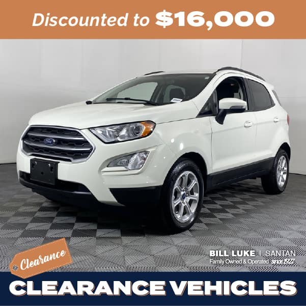 Pre-Owned 2020 Ford EcoSport SE FWD 4D Sport Utility