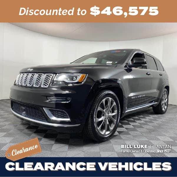 Pre-Owned 2020 Jeep Grand Cherokee Summit 4WD 4D Sport Utility