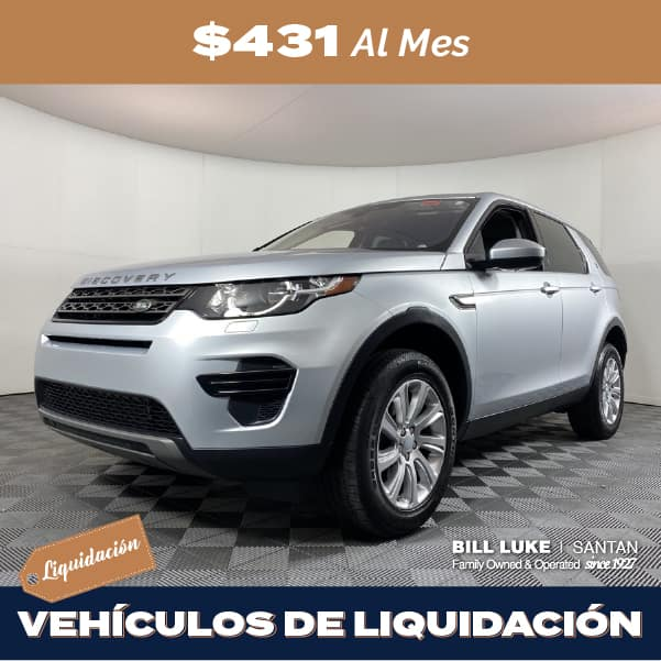 Seminuevo 2017 Land Rover Discovery Sport SE 4WD 4D Sport Utility