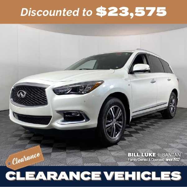 Pre-Owned 2017 INFINITI QX60 Base FWD 4D Sport Utility