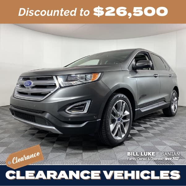 Pre-Owned 2018 Ford Edge Titanium FWD 4D Sport Utility