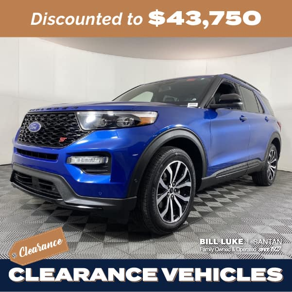 Pre-Owned 2020 Ford Explorer ST 4WD 4D Sport Utility