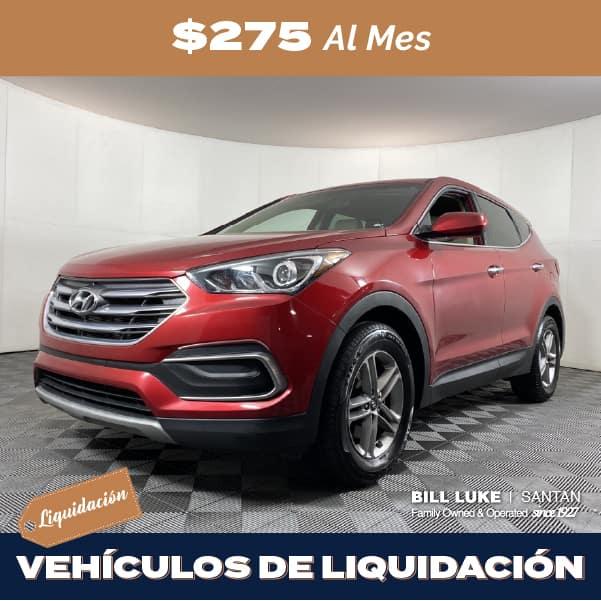 Seminuevo 2018 Hyundai Santa Fe Sport 2.4 Base FWD 4D Sport Utility