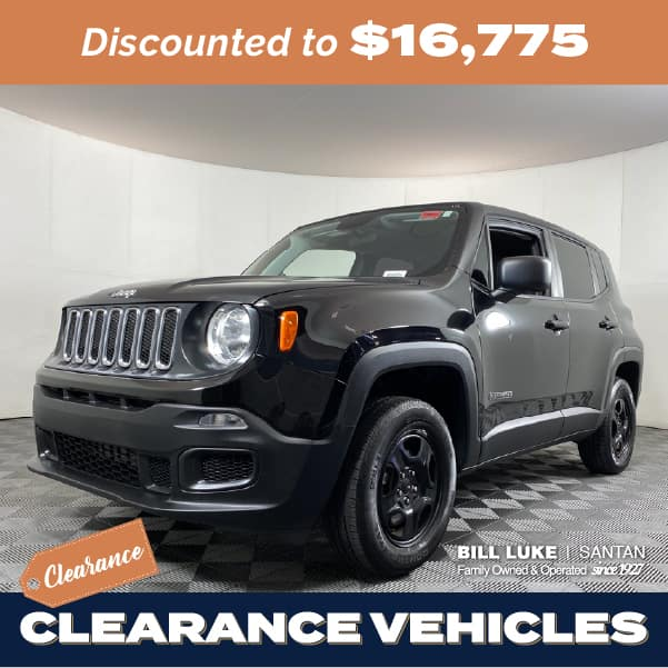 Pre-Owned 2018 Jeep Renegade Sport 4WD 4D Sport Utility