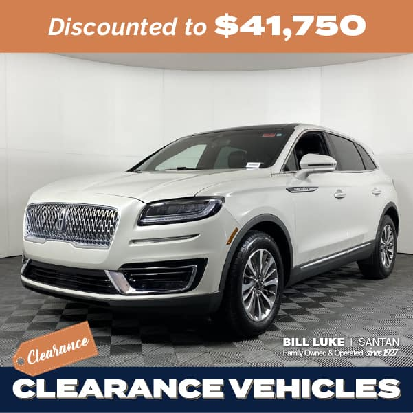 Pre-Owned 2020 Lincoln Nautilus Reserve FWD 4D Sport Utility