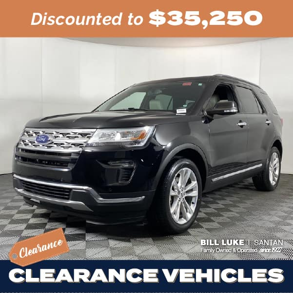 Pre-Owned 2018 Ford Explorer Limited 4WD 4D Sport Utility