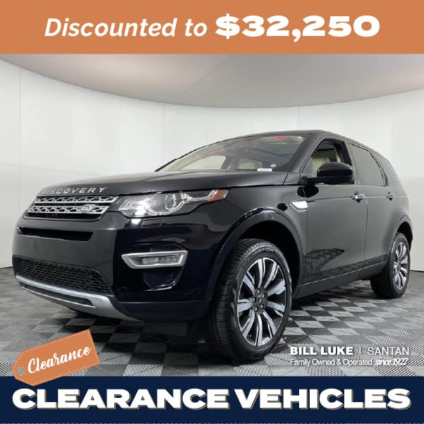 Pre-Owned 2017 Land Rover Discovery Sport HSE Luxury 4WD 4D Sport Utility