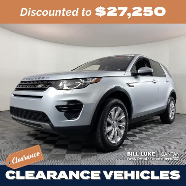 Pre-Owned 2017 Land Rover Discovery Sport SE 4WD 4D Sport Utility