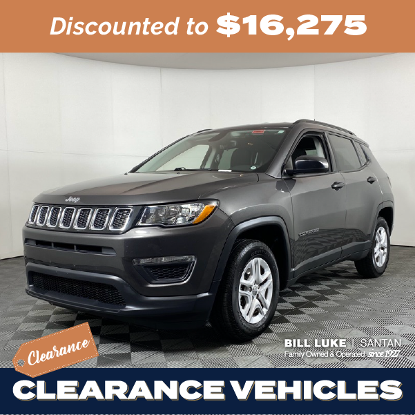 Pre-Owned 2018 Jeep Compass Sport FWD 4D Sport Utility