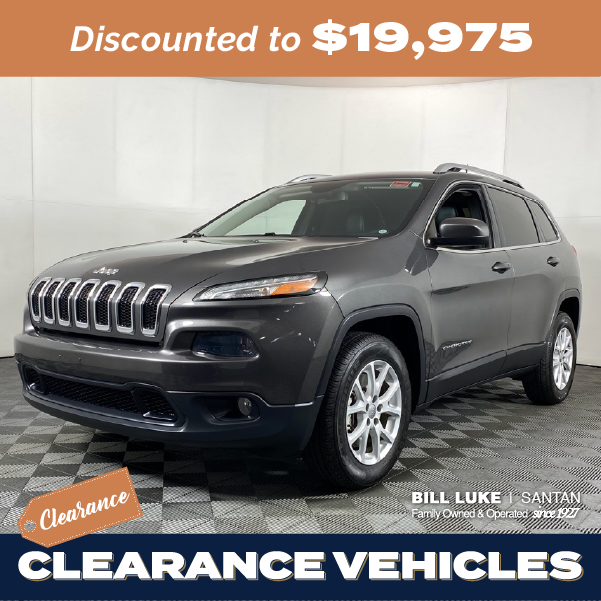 Pre-Owned 2018 Jeep Cherokee Latitude Plus 4WD 4D Sport Utility