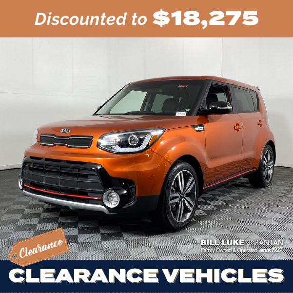 Pre-Owned 2018 Kia Soul Exclaim FWD 4D Hatchback