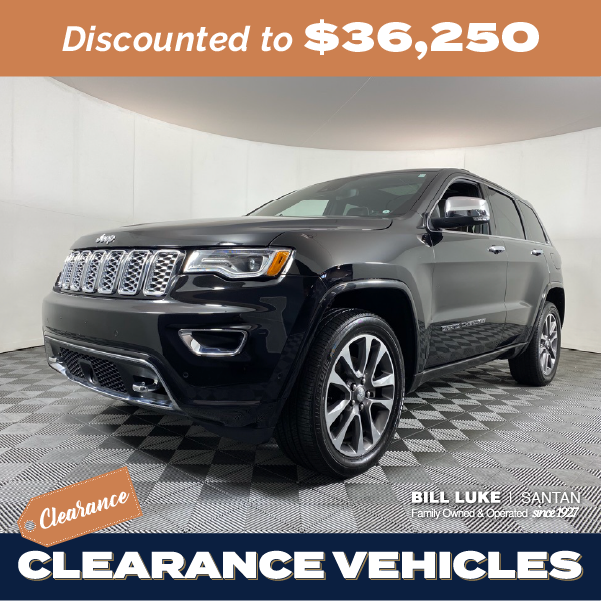 Pre-Owned 2018 Jeep Grand Cherokee Overland 4WD 4D Sport Utility