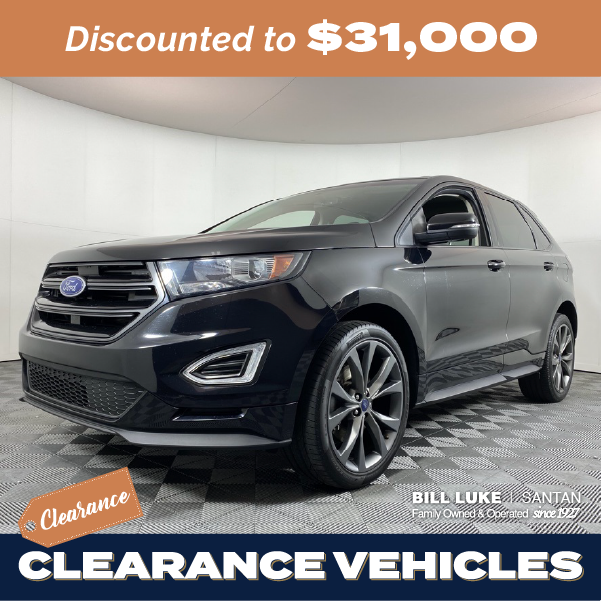 Pre-Owned 2018 Ford Edge Sport AWD 4D Sport Utility