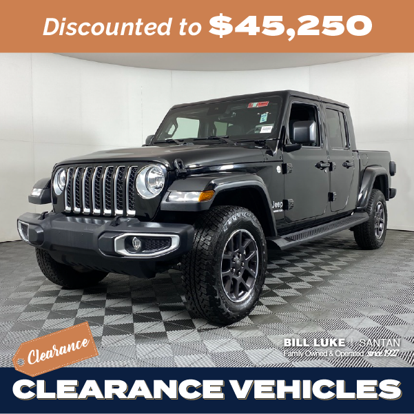 Pre-Owned 2020 Jeep Gladiator Overland 4WD 4D Crew Cab