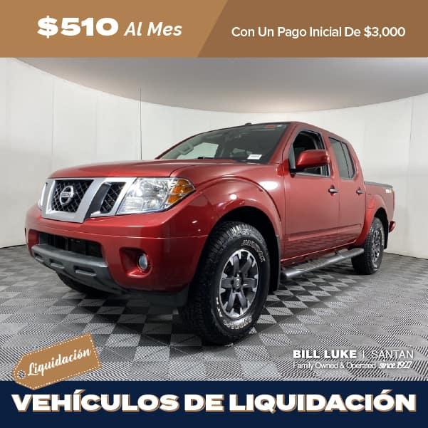 Pre-Owned 2019 Nissan Frontier PRO-4X 4WD 4D Crew Cab