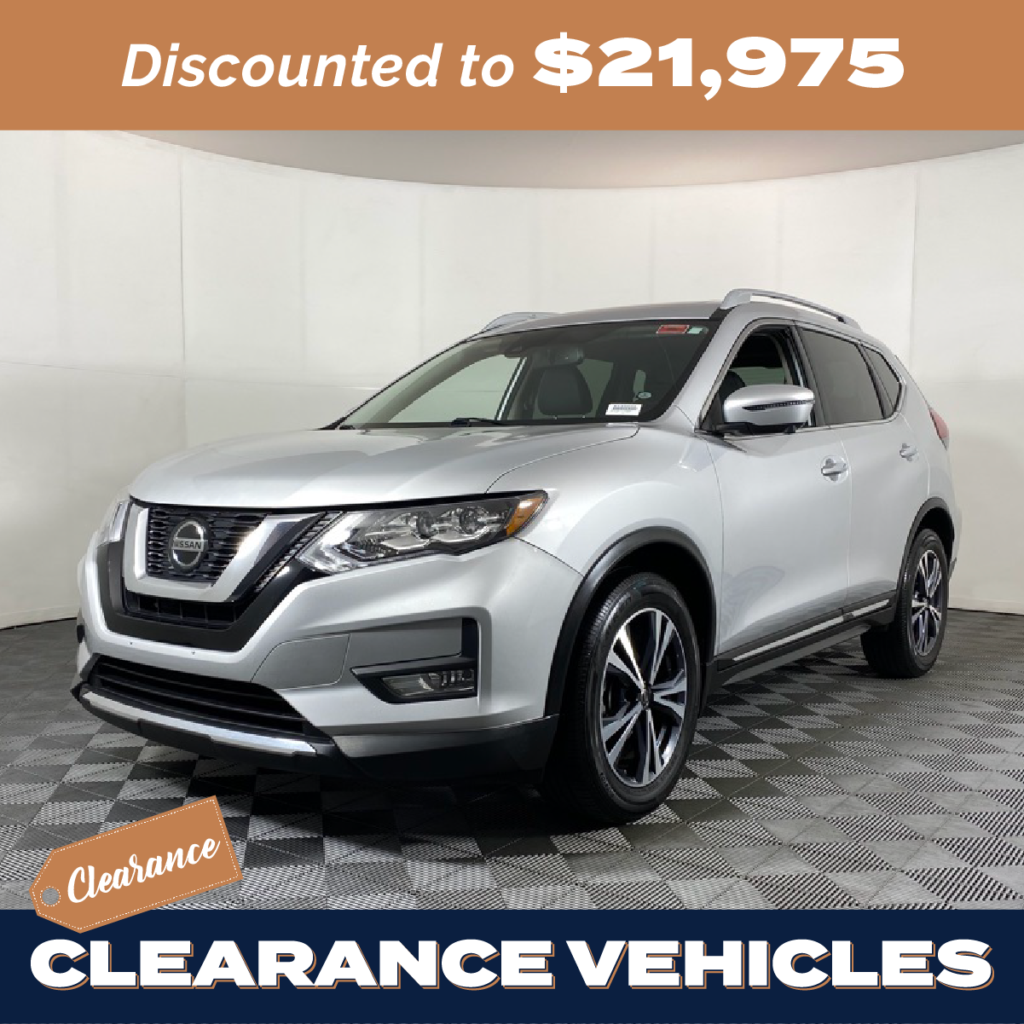 Pre-Owned 2018 Nissan Rogue SL FWD 4D Sport Utility