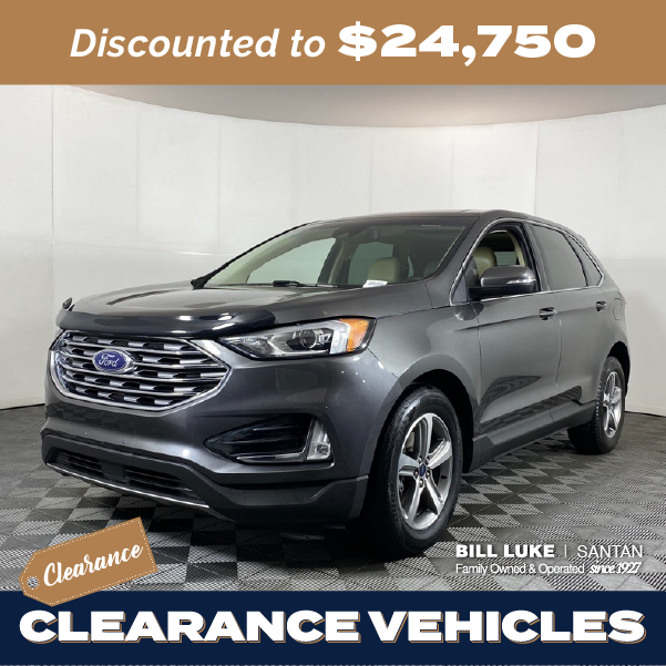 Pre-Owned 2019 Ford Edge SEL FWD 4D Sport Utility