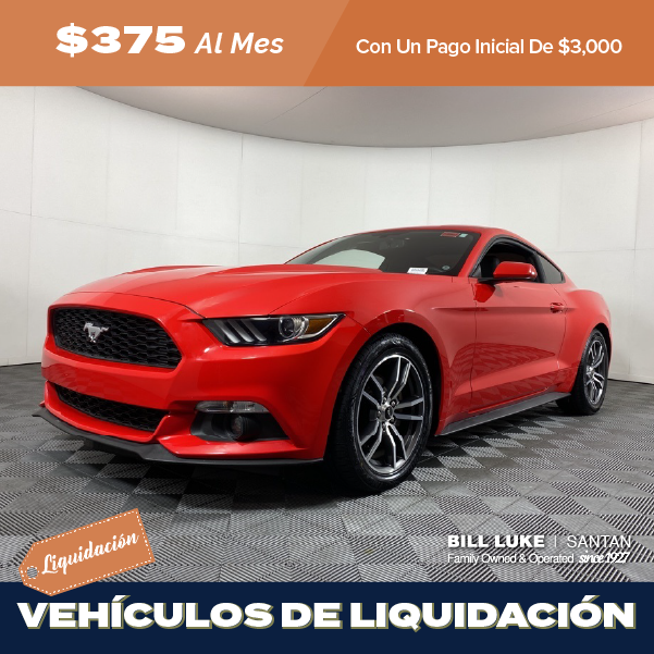 Seminuevo 2017 Ford Mustang EcoBoost RWD 2D Coupe