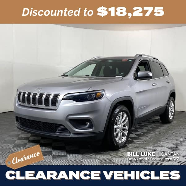 Pre-Owned 2019 Jeep Cherokee Latitude FWD 4D Sport Utility
