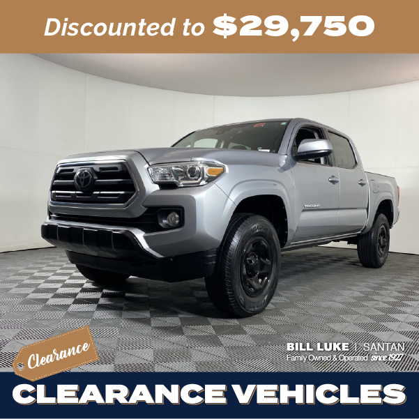 Pre-Owned 2019 Toyota Tacoma SR5 RWD 4D Double Cab