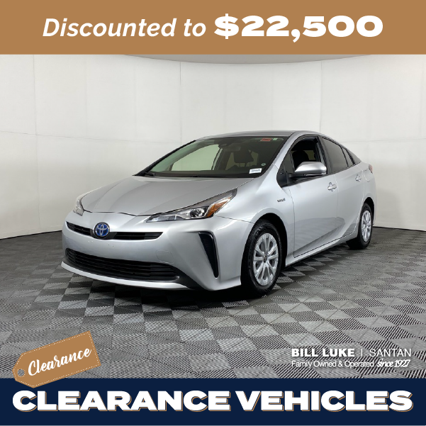 Pre-Owned 2019 Toyota Prius L FWD 5D Hatchback