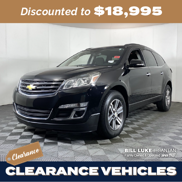 Pre-Owned 2017 Chevrolet Traverse 2LT AWD 4D Sport Utility